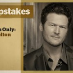 Win a SolidBody Taylor Guitar Signed By Blake Shelton!