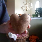 Heart Shaped Tater For Wordless Wednesday