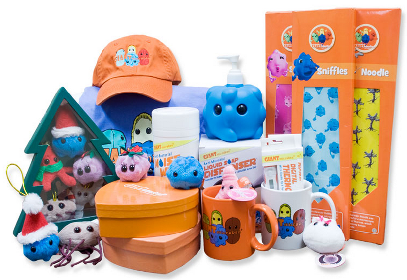 Giant microbes germs you can love sponsored @giantmicrobes