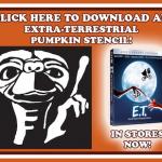ET Halloween Stencil