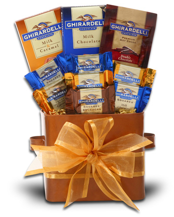 Ghirardelli Golden Gift Tin from Candy.com