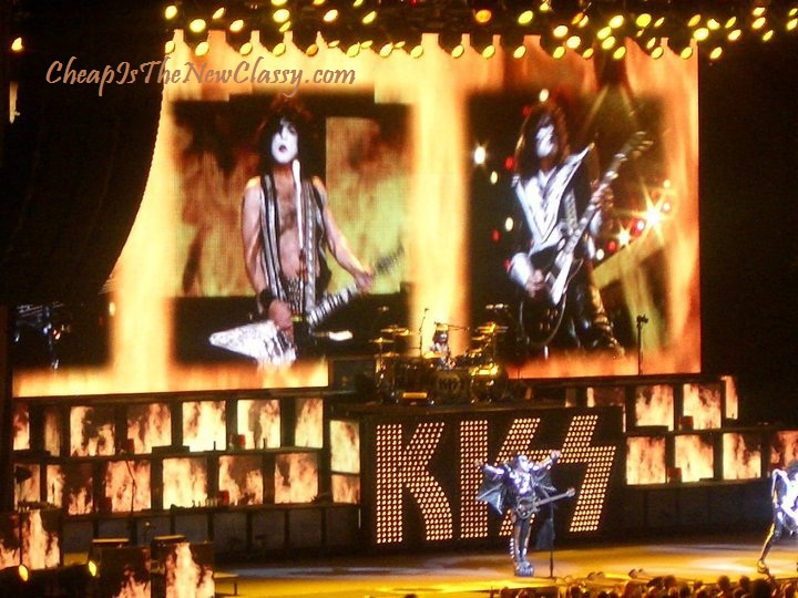KISS Paul Stanley Tommy Thayer