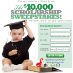Gradsave $10000 Scholarship Sweepstakes