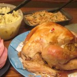 Happy Thanksgiving - Eat, in moderation. :)