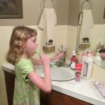 colgate jacklyn brushing teeth