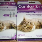 Comfort Zone® with Feliway® Diffuser can help relieve stress symptoms in cats. Stress symptoms include scratching, urinating and marking territory. #sponsored