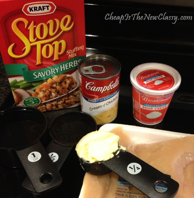 Easy Chicken Bake With Stovetop Stuffing Recipe From Kraft