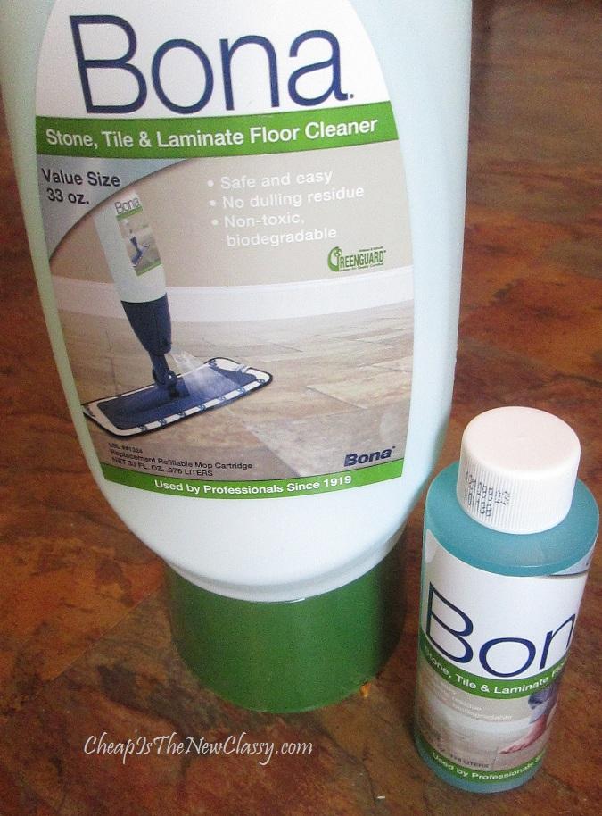 Bona floor mop cleaner