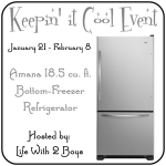 Check out the 18.5 cubic foot bottom freezer refrigerator. This Amana refrigerator is energy star qualified, has a reversible door and gallon door storage.