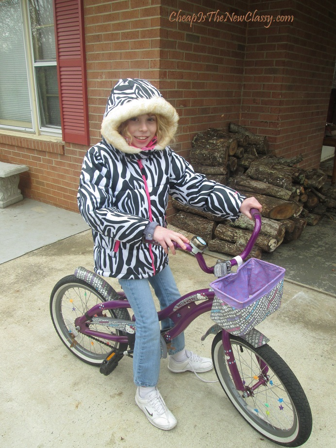 Carter's Ice Zebra Jacket from Cookie's Kids