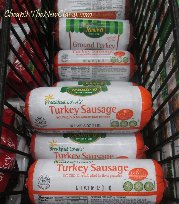 Jennie-O Turkey Sausage