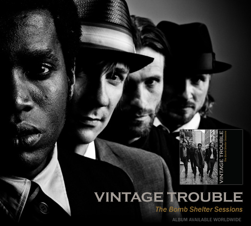 Vintage Trouble The Bomb Shelter Sessions