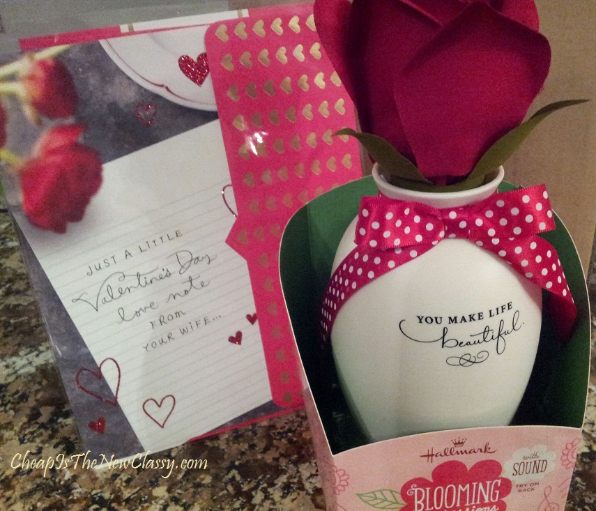 Hallmark Valentine's Day gift ideas Blooming Expressions