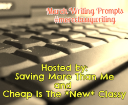 Writing Prompts #moreclassywriting