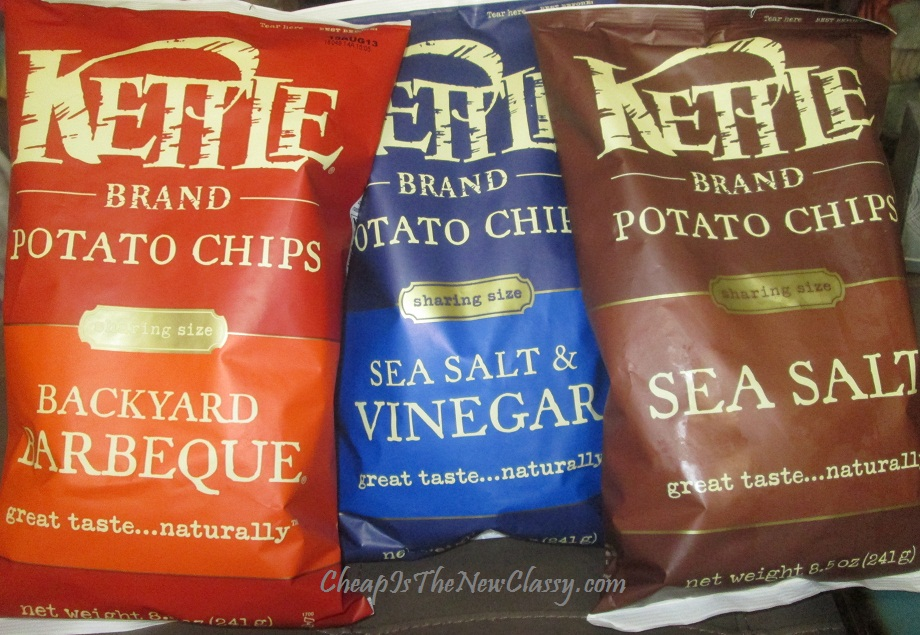 Kettle Chips snack ideas