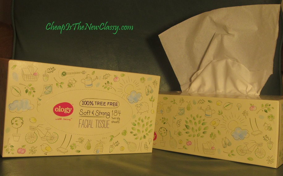 Ology Facial Tissues From Walgreens
