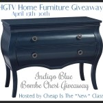 hgtv home furniture event button