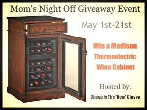 Mom's Night Off - Madison Wine Cooler Giveaway Event