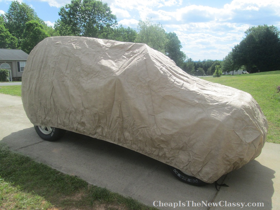 Empire Covers car cover for a Jeep Liberty