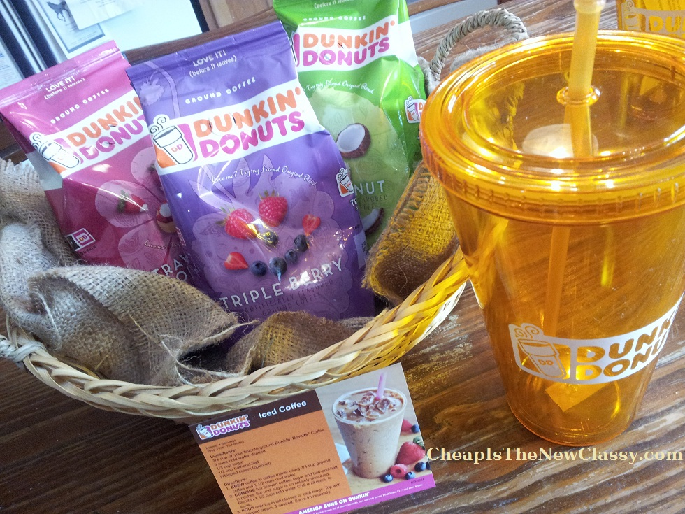 Dunkin' Donuts Seasonal Coffee Party: Coconut, Triple Berry, Strawberry Shortcake