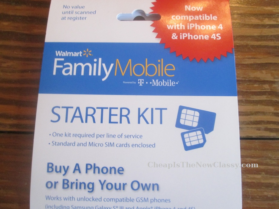 Walmart Family Mobile Plan Starter Kit