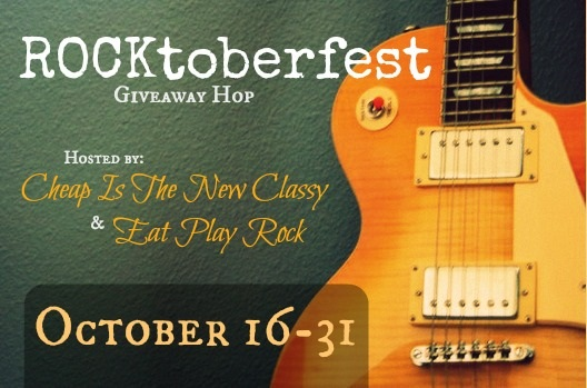 ROCKtoberfest Giveaway Hop at Cheap Is The New Classy