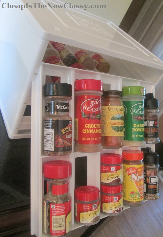 YouCopia Chef's Edition Spice Stack Storage Organization