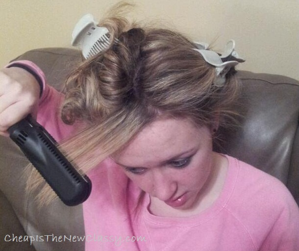 how to straighten wet hair