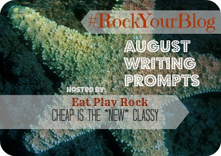 Writing Prompts To Rock Your Blog from Cheap Is The New Classy #rockyourblog