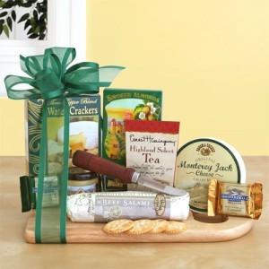 Cheeseboard Complete Gourmet Gift Basket