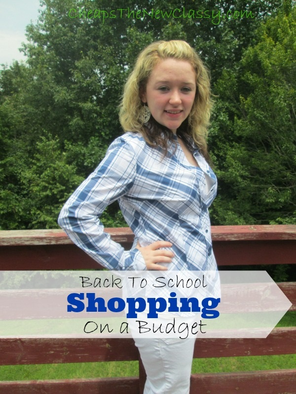School Shopping for Levi Strauss on a Budget from ThredUp - Cheap Is The New Classy