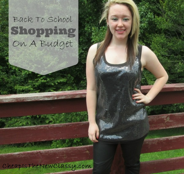 Back to school shopping for Vera Wang and Twenty One clothes on a budget with thrifting from ThredUp
