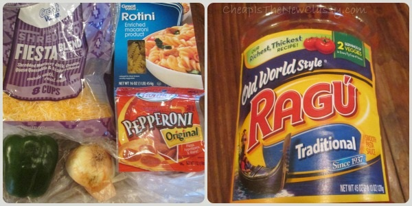 Easy Cavatini pizza pasta recipe inspired by Pizza Hut | Cheap Is The New Classy
