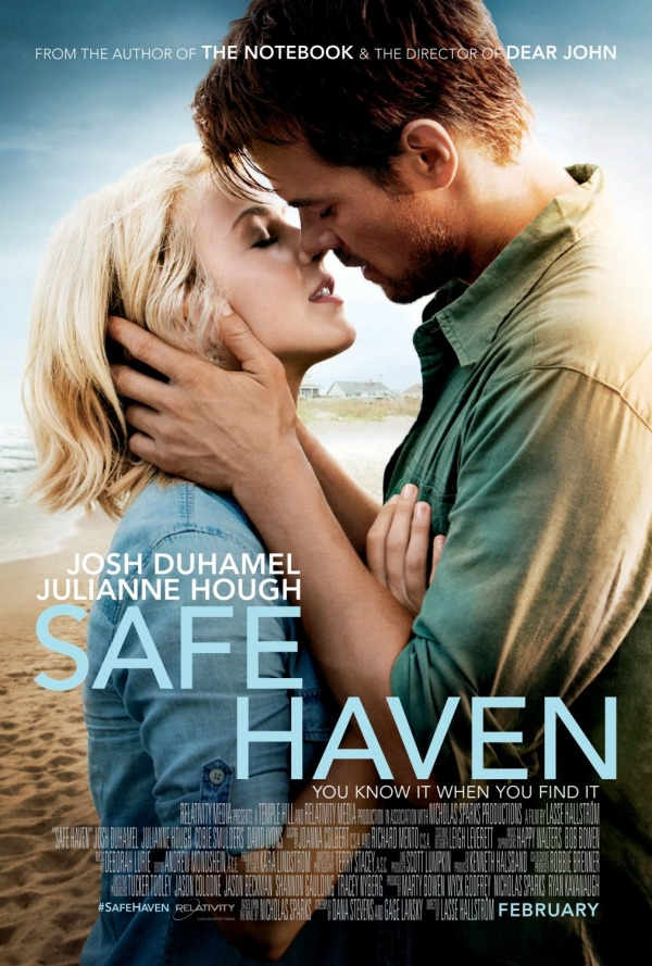 One of my favorite books - Safe Haven by Nicholas Sparks