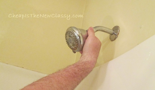 T3 Shower Head Installation