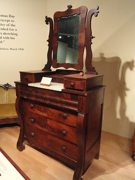 Thomas Day Furniture http://commons.wikimedia.org/wiki/File%3ABureau%2C_1860-1866%2C_by_Thomas_Day_-_North_Carolina_Museum_of_History_-_DSC06068.JPG