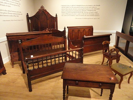 Thomas Day Furniture http://commons.wikimedia.org/wiki/File%3AFurniture_by_Thomas_Day_-_North_Carolina_Museum_of_History_-_DSC06084.JPG