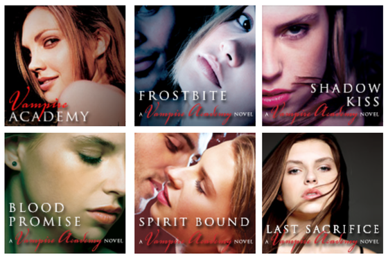 Favorite Books in a series - Vampire Academy by Richelle Mead