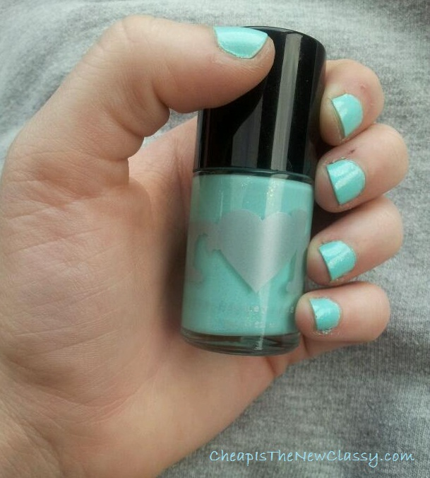 Rainbow Honey nail polish in Mint Flavor from Wantable