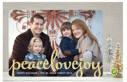Minted.com holiday cards