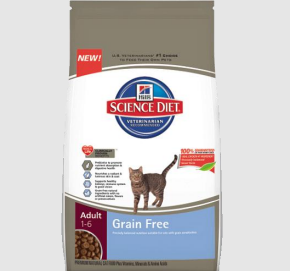 The benefits of Hill's Science Diet Grain-Free Cat Food
