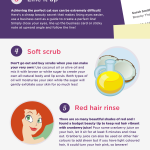 Skinbase beauty tips that won't break the bank infographic