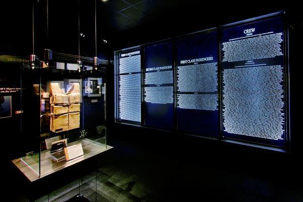 Titanic Memorial Room {Image Credit: TitanicPigeonForge.com}