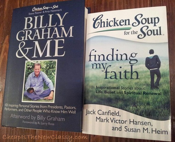 Chicken Soup For The Soul Finding My Faith and Billy Graham and Me