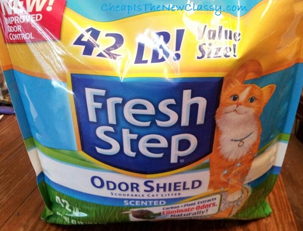 Fresh Step OdorShield 42 pounds + learn how to cat beard #shop #cbias