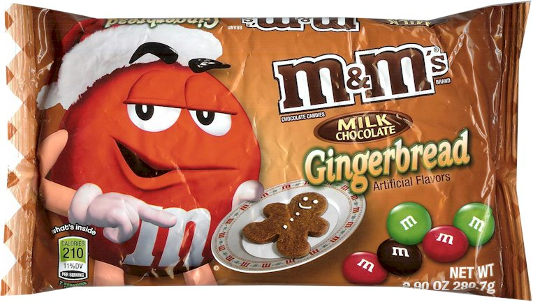 Gingerbread M&Ms #HolidayMM