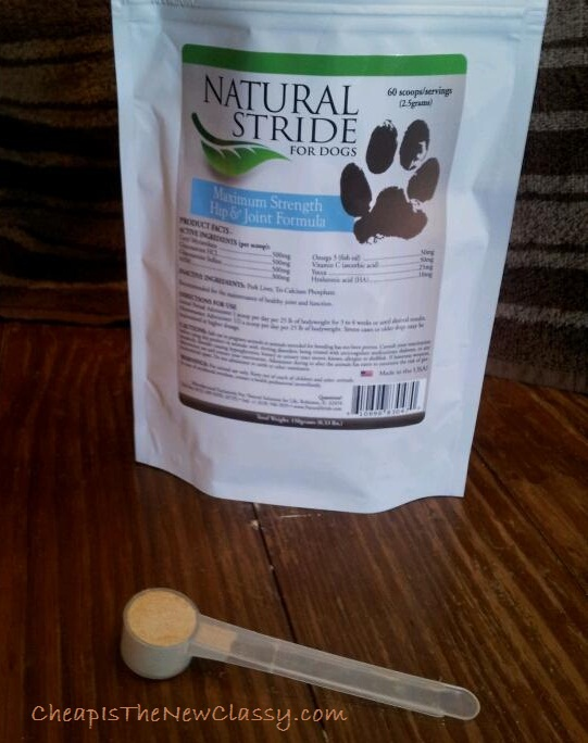 Natural Stride Hip and Joint Supplement for dogs