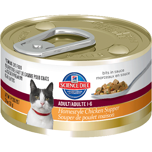 Science Diet Cat Food Supper
