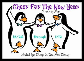 Cheer For The New Year Giveaway Hop #cheernewyear