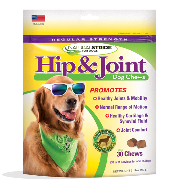 Natural Solutions #naturalstride dog chews for joint pain in dogs #sponsored